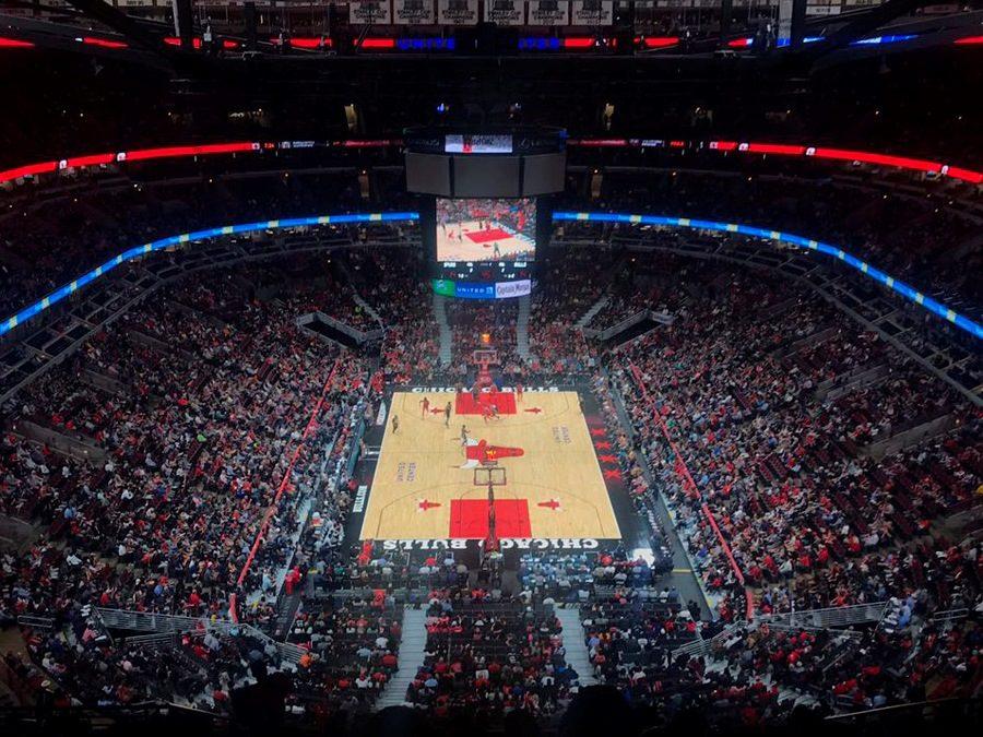 jogo-chicago-bulls-basquete-united-center-arena